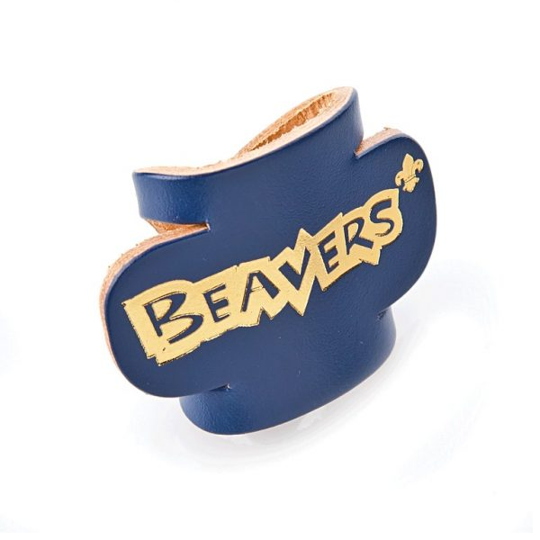 Beaver Leather Woggle