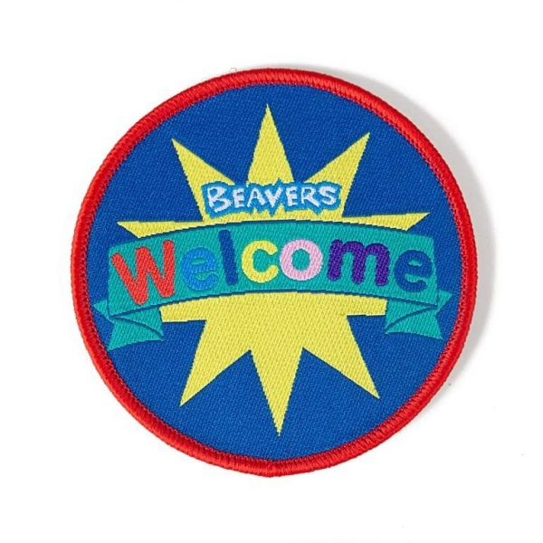 Fun Badge Welcome to Beavers