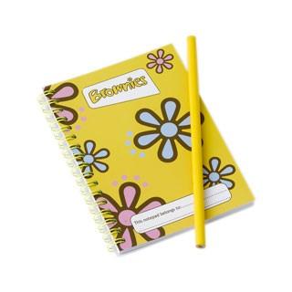 Brownie Notepad & Pencil Set (7008)