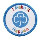 I Make it Happen Badge 8510