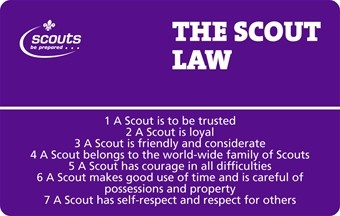 Scout Law and Promise Card (100766)