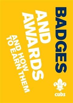 Cubs Badges & Awards Book (106930)