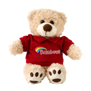 Rainbow Teddy (2580)