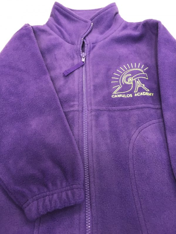 Camulos Logo Purple Fleece Jacket