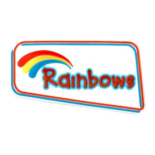 Rainbows Logo PVC Badge (9499)