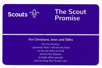 Promie Card Scouts (Christians, Jews & Sikhs)