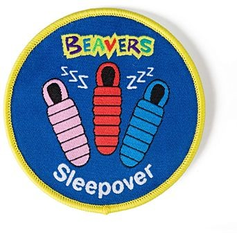 Beavers Sleepover Badge
