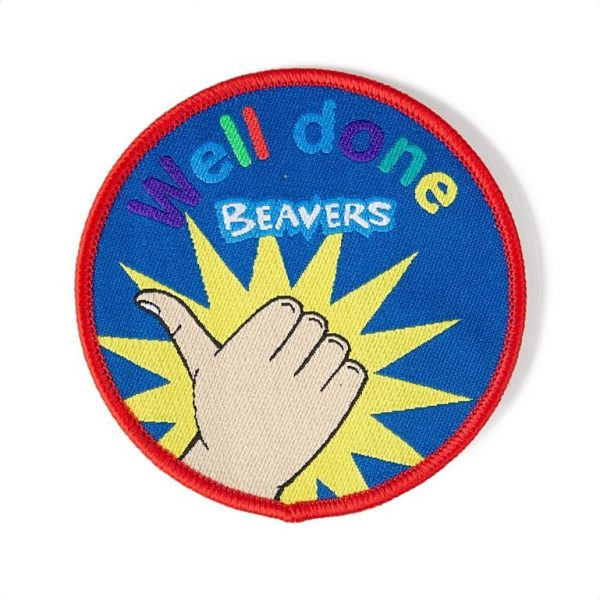 Well Done Beavers Badge